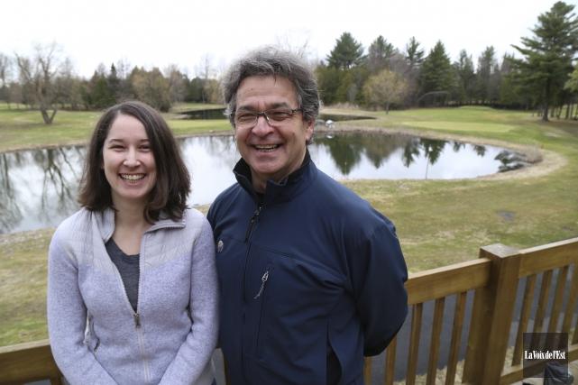 La relève du club de golf Les Cèdres,... (Photo La Voix de l'Est, Janick Marois)
