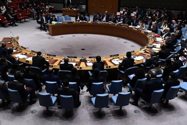 À la demande de Washington, Séoul et Tokyo,... (PHOTO Jewel SAMAD, Archives AFP)