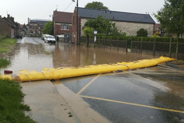 Le système Water-Gate a été développé au Québec... (fournie par MegaSecur)