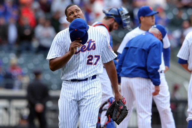 Jeurys Familia... (Photo Brad Penner, USA TODAY Sports)