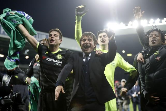 Antonio Conte et ses hommes ont peiné à... (Photo REUTERS)