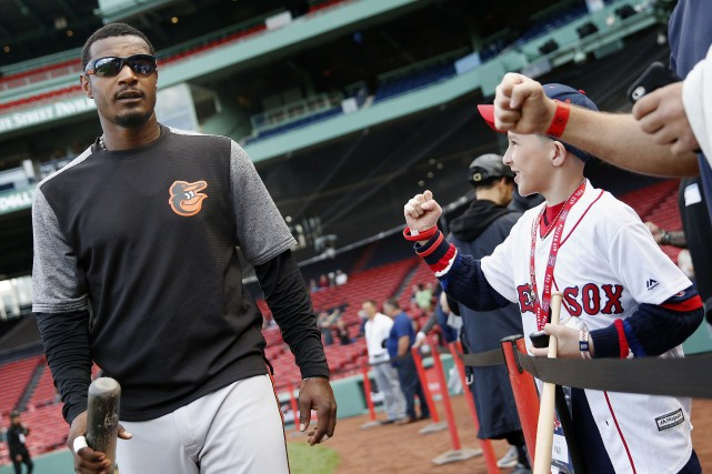 Adam Jones des Orioles de Baltimore a été... (Photo Michael Dwyer, AP)