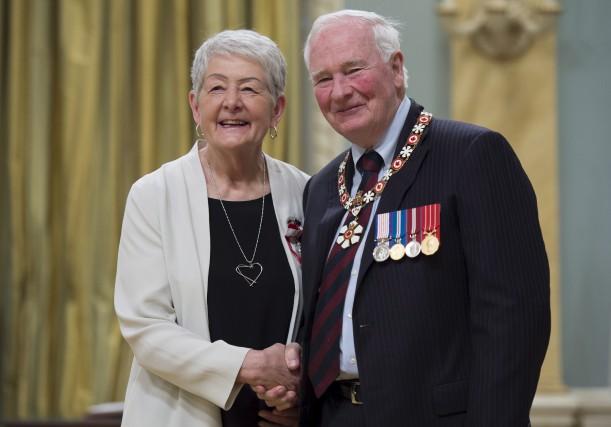 Le gouverneur général du Canada, David Johnston, en... (La Presse canadienne)