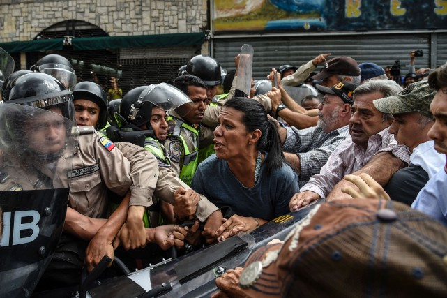 Selon une ONG de défense des droits de... (photo JUAN BARRETO, AFP)