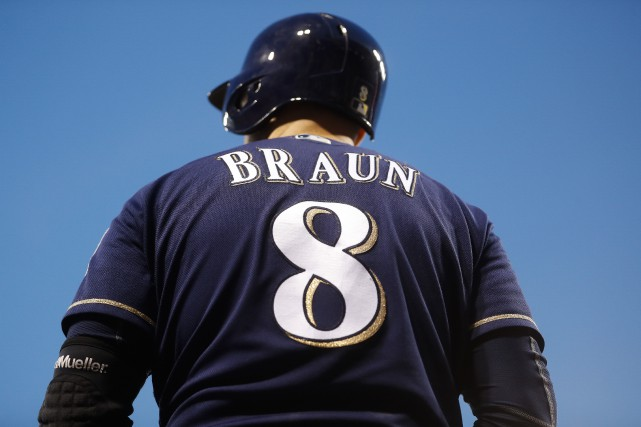Ryan Braun... (Photo John Minchillo, archives AP)