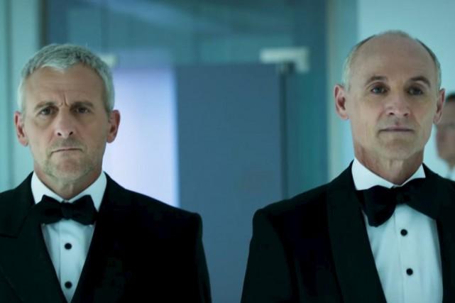 Les policiers incarnés par Patrick Huard et Colm... (Courtoisie)