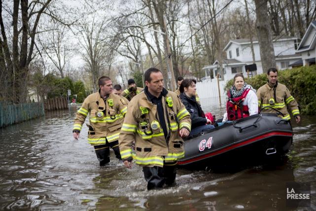 ÉDITORIAL / Il faut sympathiser avec les victimes des inondations qui affectent... (La Presse, Sarah Mongeau-Birkett)
