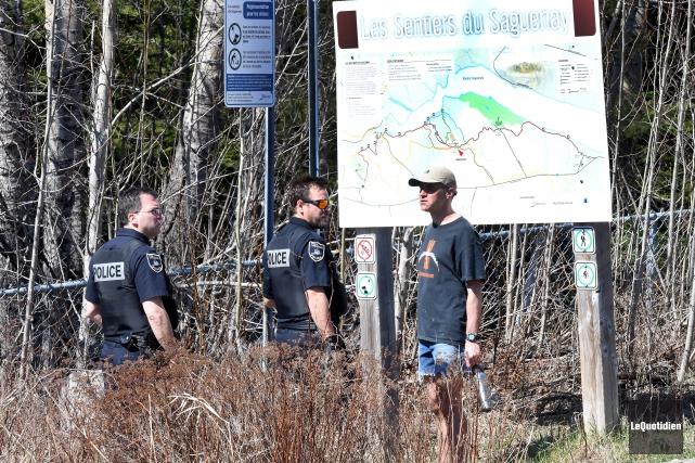 Les policiers de la Sécurité publique de Saguenay... (Le Quotidien, Rocket Lavoie)