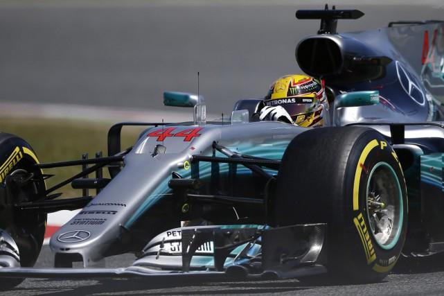 Lewis Hamilton... (Photo Manu Fernandez, ASSOCIATED PRESS)