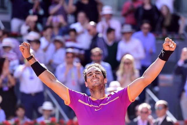Rafael Nadal... (PHOTO JAVIER SORIANO, AGENCE FRANCE-PRESSE)