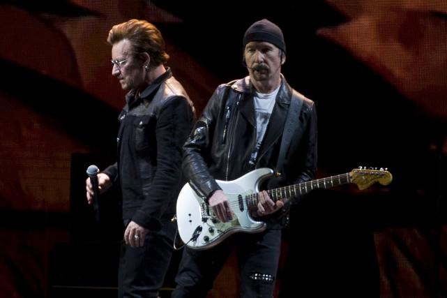 Bono a lancé que Vancouver est «la ville... (Photo Jonathan Hayward, La Presse canadienne)