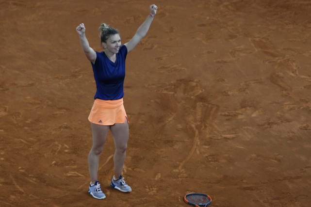 Simona Halep... (PHOTO Francisco Seco, AP)