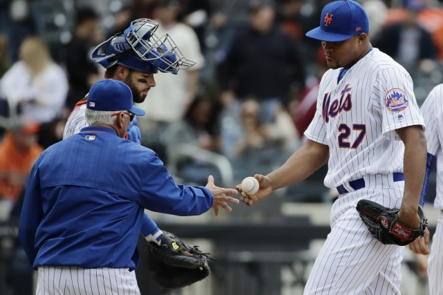 L'entraîneur Terry Collins devra se priver des services... (Photo Frank Franklin II, AP)