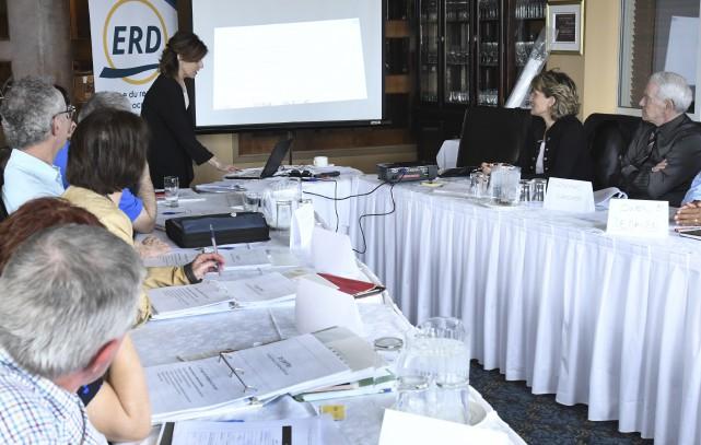 Les candidats de l'ERD étaient réunis à La... (Michel Tremblay)