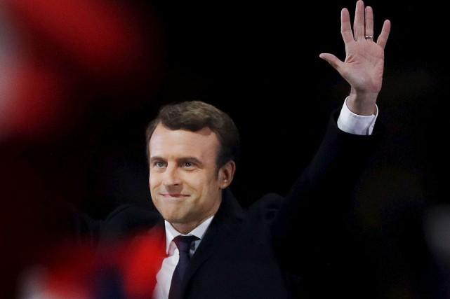 Emmanuel Macron... (Photo Patrick Kovarik, archives Agence France-Press)