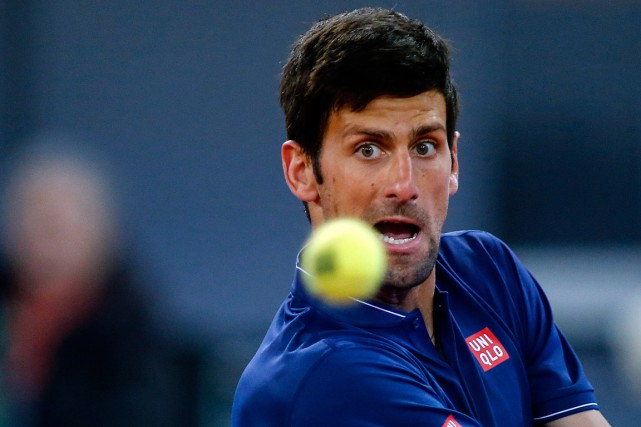 Novak Djokovic... (PHOTO OSCAR DEL POZO, ARCHIVES AGENCE FRANCE-PRESSE)