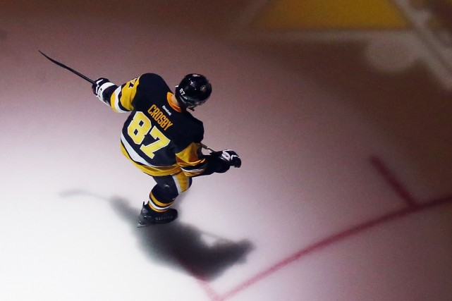 Sidney Crosby et les Penguins ont fait pas... (Archives, Agence France-Presse)