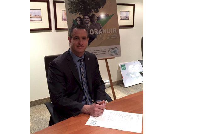 Dominic Gagnon, directeur général de la Caisse du... (Photo fournie)