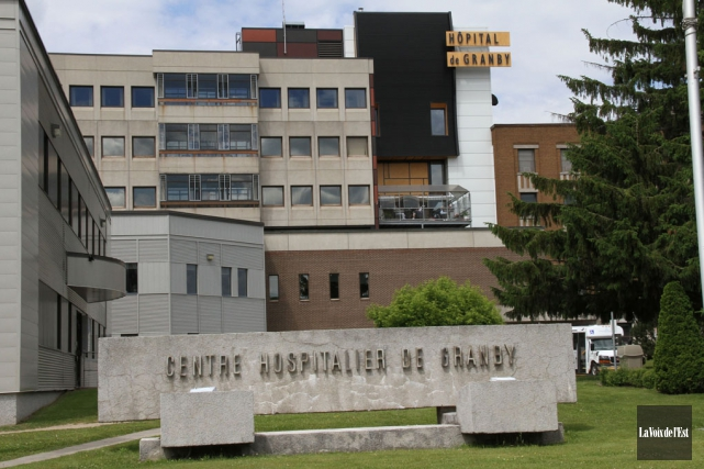 L'hôpital de Granby... (archives La Voix de l'Est)