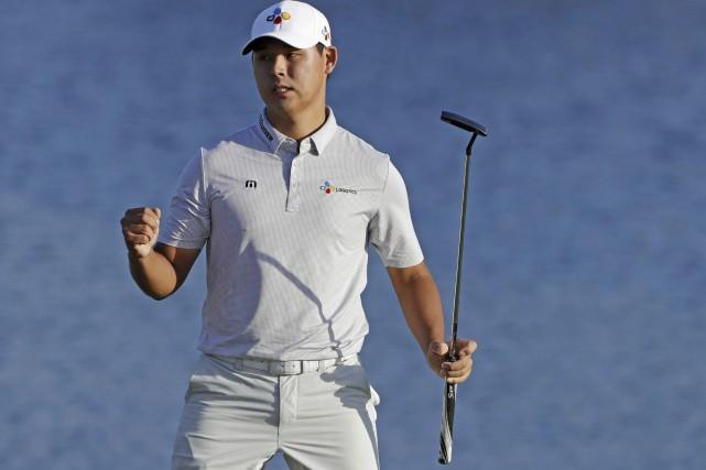 Si Woo Kim... (Photo Chris O'Meara, AP)