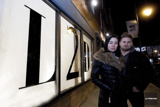 Audrey L'Heureux (photo), Andy Buntic (photo) et Sara... (Archives, La Tribune)