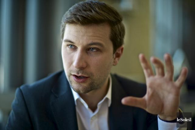 Gabriel Nadeau-Dubois sera-t-il le porte-parole masculin de Québec... (Photothèque Le Soleil)