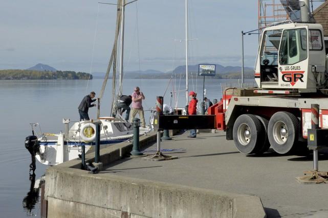 Vingt-trois voiliers ont été mis à l'eau au... (Spectre Média, Maxime Picard)