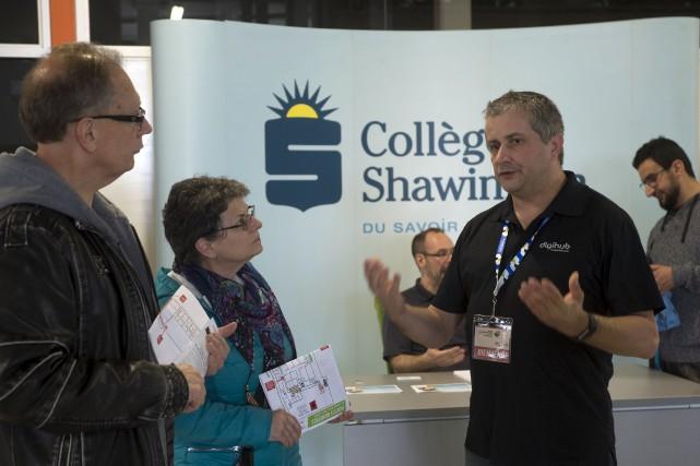 Le Centre d'entrepreneuriat et le DigiHub de Shawinigan... (Stéphane Lessard)
