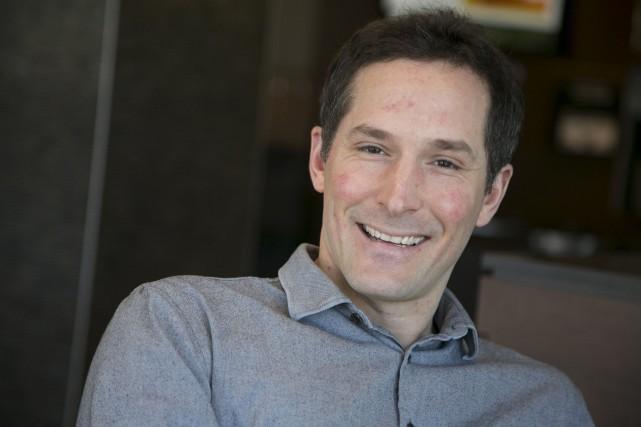 Nolan Bazinet, enseignant au Collège régional Champlain à... (Spectre média, René Marquis)