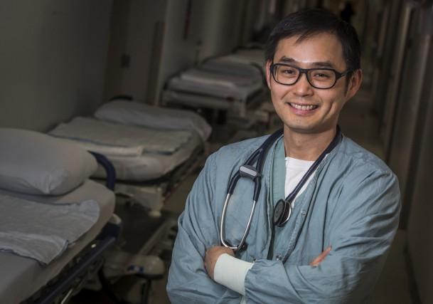 Le Dr Ying Tung Sia, cardiologue rattaché au... (François Gervais)