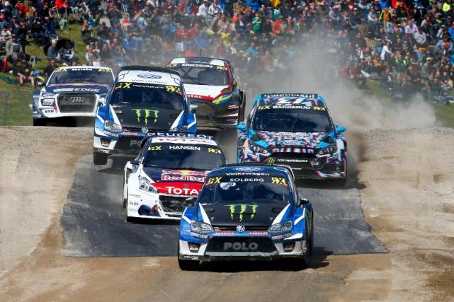La finale du Championnat mondial de rallycross en... (Championnat mondial de Rallycross)