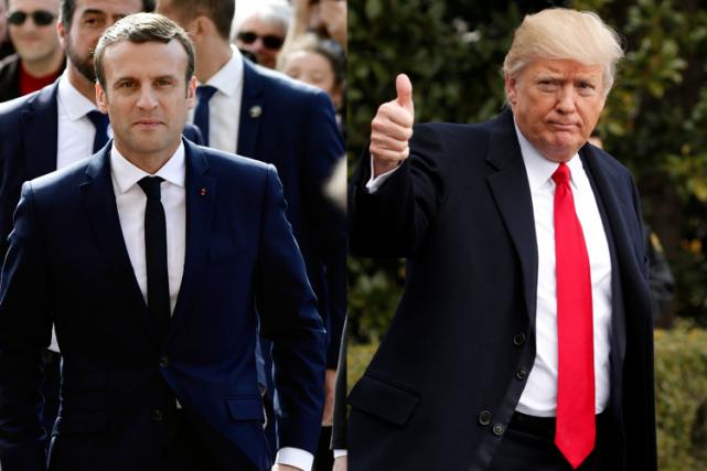 Le jeune président français de 39 anset son...