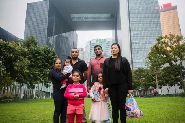 Vendredi dernier, le département de l'Immigration de Hong... (photoISAAC LAWRENCE, archives agence france-presse)