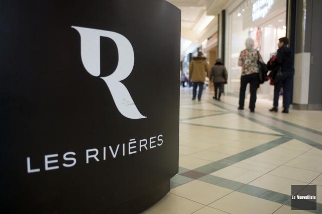 Pour le centre commercial Les Rivières, le printemps... (Stéphane Lessard, Le Nouvelliste)