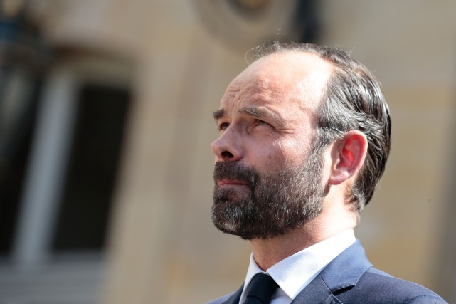 Edouard Philippe... (Photo Joel Saget, Agence France-Presse)