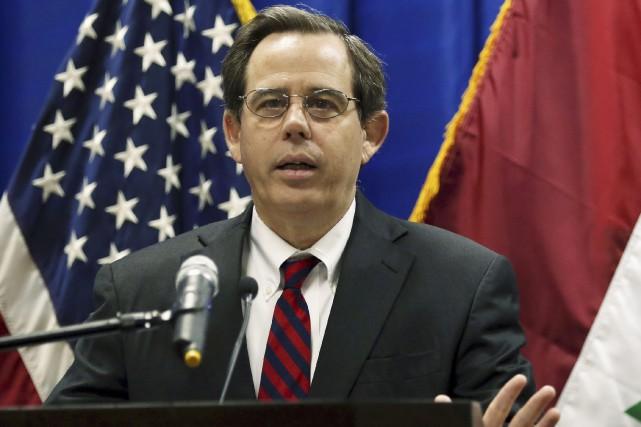 Le responsable du département d'État pour le Moyen-Orient,... (Photo Khalid Mohammed, archives Associated Press)
