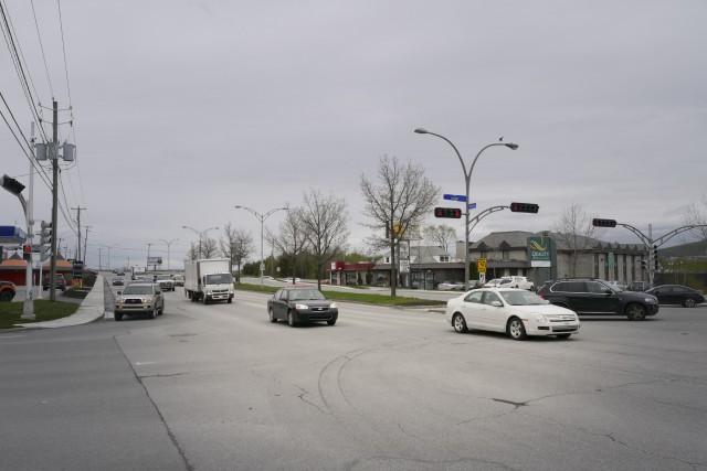 La Ville mène une étude sur l'intersection King... (Spectre Média, René Marquis)