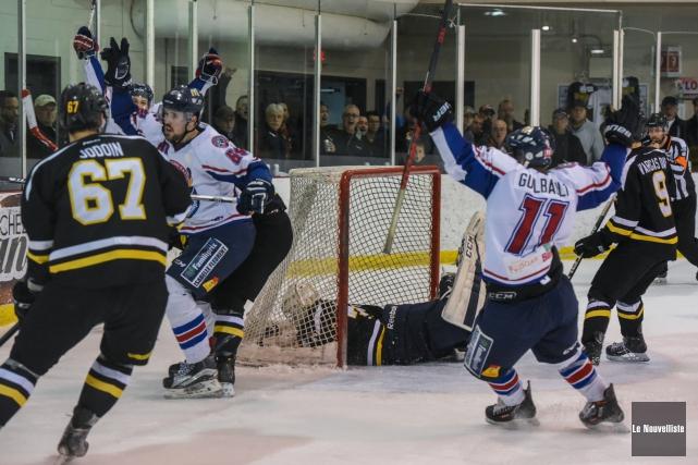 La Ligue de hockey senior AAA du Québec... (Photo: François Gervais Le Nouvelliste)