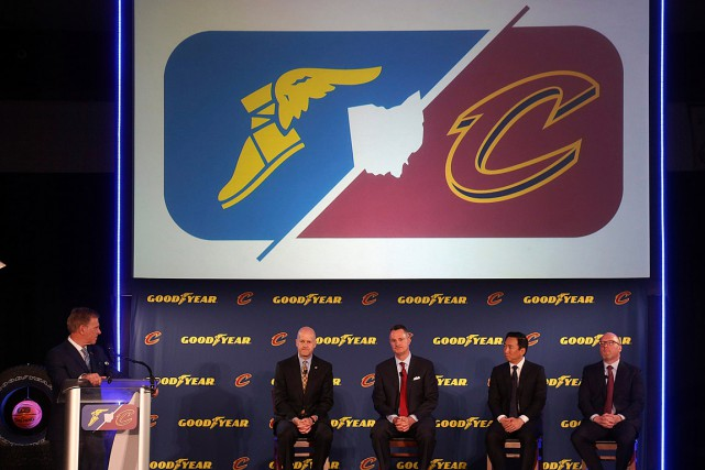 Le logo ailé de Goodyear sera placé sur... (Photo Joshua Gunter, AP/Cleveland.com)