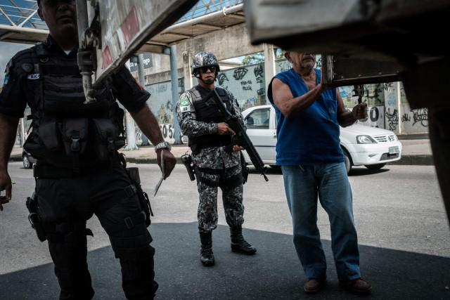 La ville de Rio de Janeiroa connu une... (PHOTO AFP)