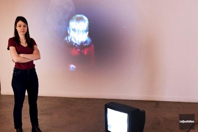 L'artiste montréalaise Myriam Jacob-Allard, originaire d'Abitibi-Témiscamingue, expose à... (Le Quotidien, Rocket Lavoie)
