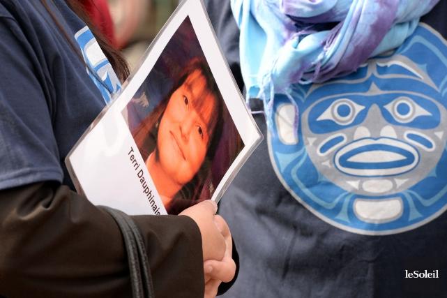 Une vigile s'était tenue à laPlace d'Youville, à... (Photo Erick Labbé, archives Le Soleil)