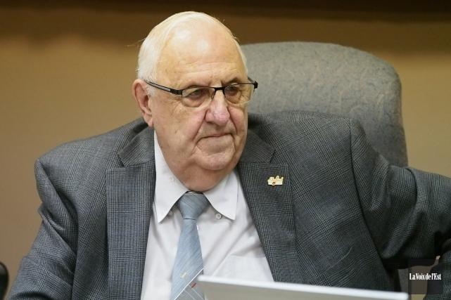 Le maire de Shefford, André Pontbriand... (Alain Dion, archives La Voix de l'Est)