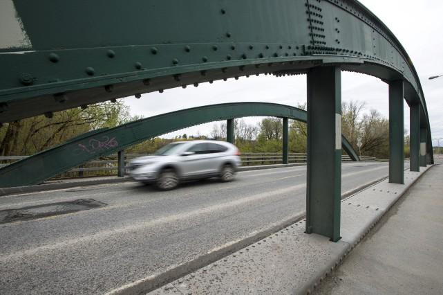 Des travaux sont prévus sur le pont de... (Spectre Média, Jessica Garneau)