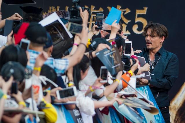 Le cinquième opus de la série Pirates of... (PHOTO AFP)