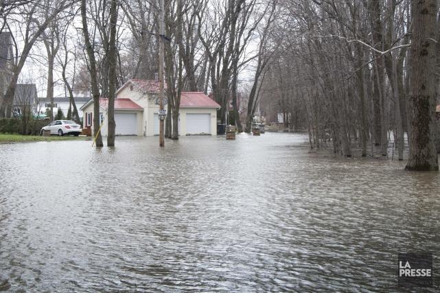 Les inondations coûteront au minimum 500 000 $... (Sylvain Mayer)