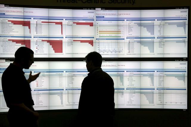Les attaques au moyen de ces logiciels qui... (AP, Marcio Jose Sanchez)