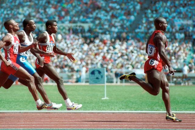 Ben Johnson a remporté l'épreuve du 100 mètres... (ARCHIVES REUTERS)