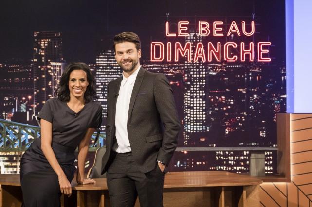 Rebecca Makonnen et Jean-Philippe Wauthier seront à la... (fournie par ICI Radio-Canada Télé)