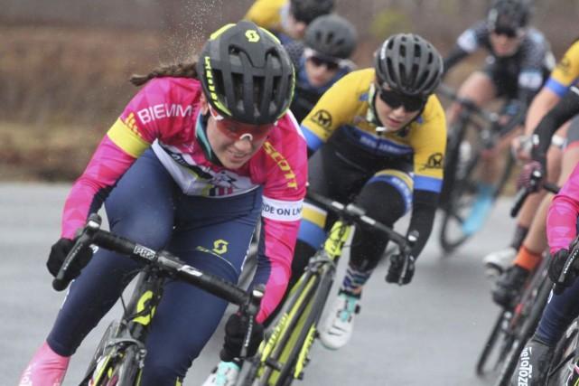 La cycliste Ariane Bonhomme représentera le Québec à... (Courtoisie)